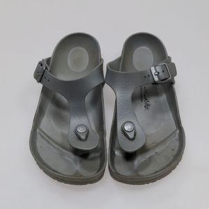 Birkenstock Gray Sandals Size 38